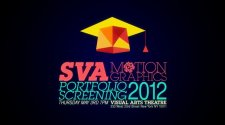 【SVA MOTION GRAPHICS PORTFOLIO SCREENING 2012】【Yao】